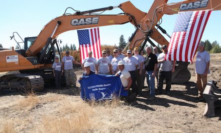 Improving Wetland Habitats at Turnbull Wildlife Refuge: CASE, Central Machinery Work with Team Rubicon