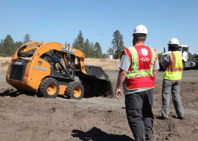 CASE, Central Machinery Work with Team Rubicon