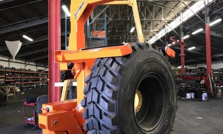High Capacity, Remote-Controlled Tire Handler Introduced
