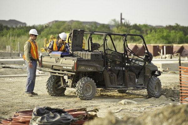 Polaris® Work Vehicles Leading Commercial Markets with Power and Versatility