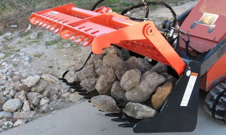 New Sweep Action Rock Grapple From Worksaver