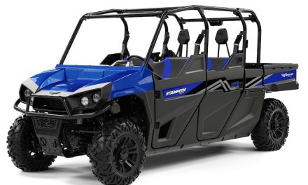 Do More with the New Four-Passenger 80HP Stampede™ XTR