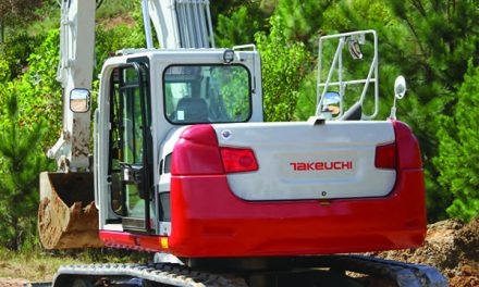 New Excavator is the Largest in Takeuchi's Lineup