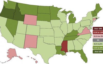 Employment in Construction Increases In 43 States During Past Year