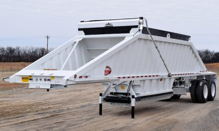 Lightweight, Durable Bottom Dump Trailer Introduced