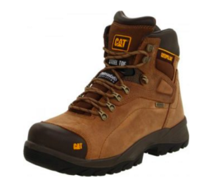 5. Caterpillar Men's Second Shift Steel Toe Work Boot