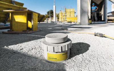 Concrete Sensors Integrated in Formwork Measures Real-Time Compressive Strength Gain of Fresh Concrete