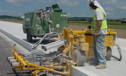 Concrete Dowel Drill, Dust Collection System Rentals Available Through Dealers