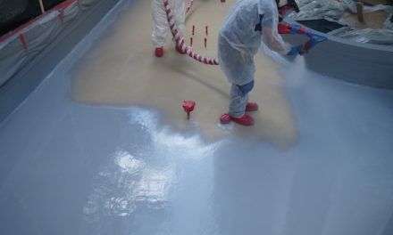 Waterproofing With Seamless, Flexible, Chemical and UV Resistant Coatings: Oasis Remains Watertight
