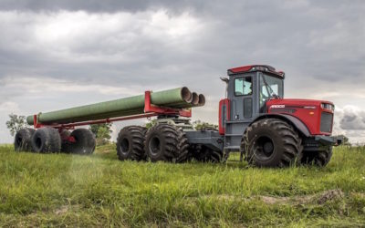 New Pipe Trailer For ARDCO's Articulating Multi-Purpose Truck