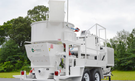 Blastcrete's New Mixer/Pump with 1-Ton Capacity, 20-tph Output