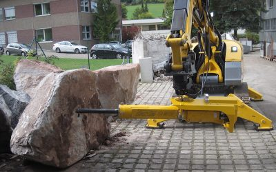 More Power and Safety, Less Noise with Darda Rock Splitter