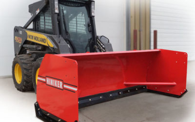 New Skid Steer Snow Pushers Introduced by Hiniker