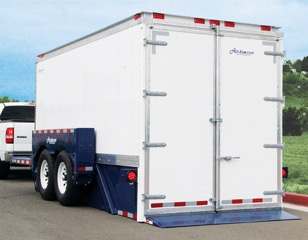 The Drop-Deck Enclosed Trailers By Airtow Trailers