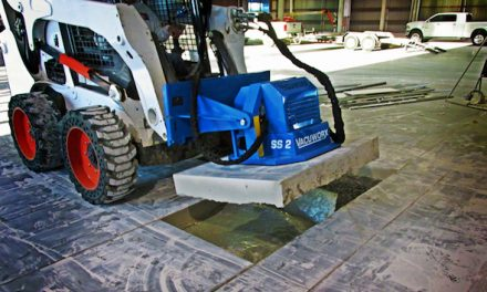 Lift Cut Concrete and Other Heavy Materials With Your Skid Steer