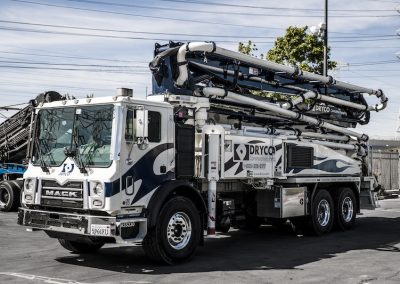 DRYCO recently invested in a Bridge Maxx Concrete Transit Mixer—the first Putzmeister mixer to be purchased in the state of California.