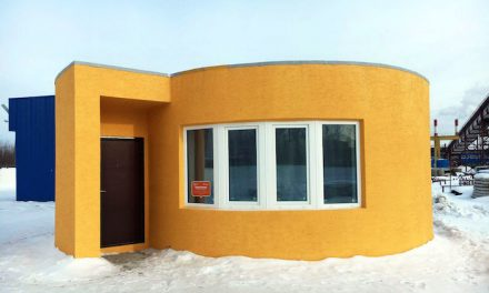 Entire House Created in One Day With 3D Printer