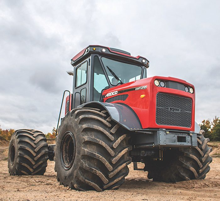 Articulating Multi-Purpose Truck Tackles Countless Off-Road Applications