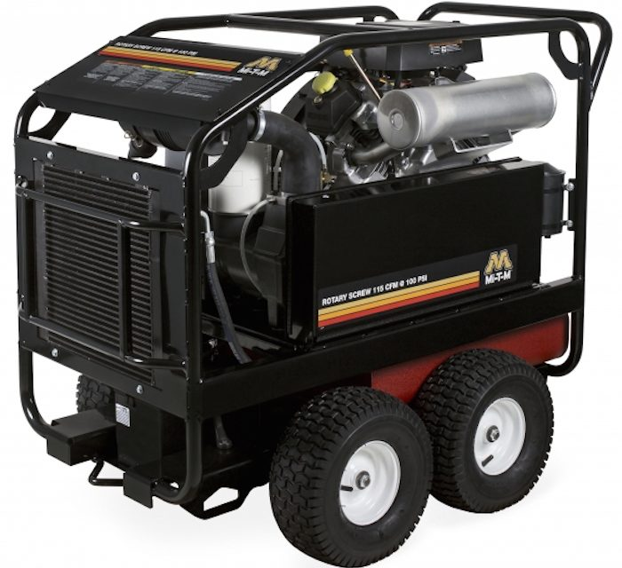 Rotary Screw Air Compressor Handles Demanding Conditions