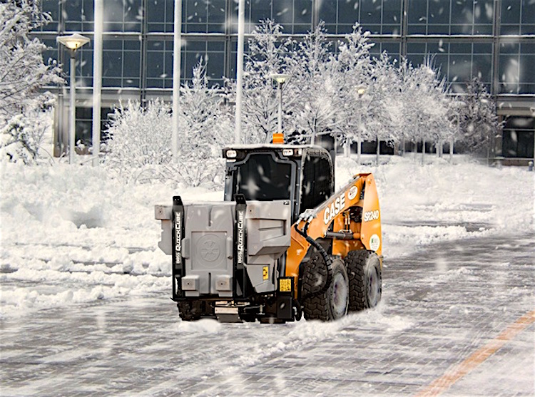 Revolutionary Skid-Steer-Based Ice Management System from BOSS